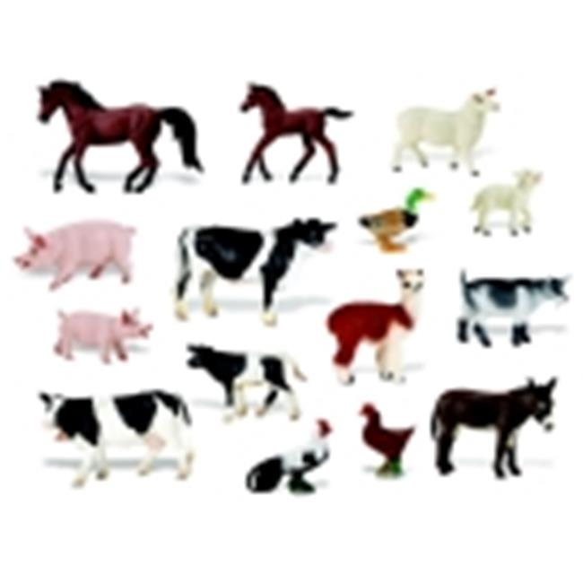 Childcraft On The Farm Hand-Painted Play Figurine Animal Set