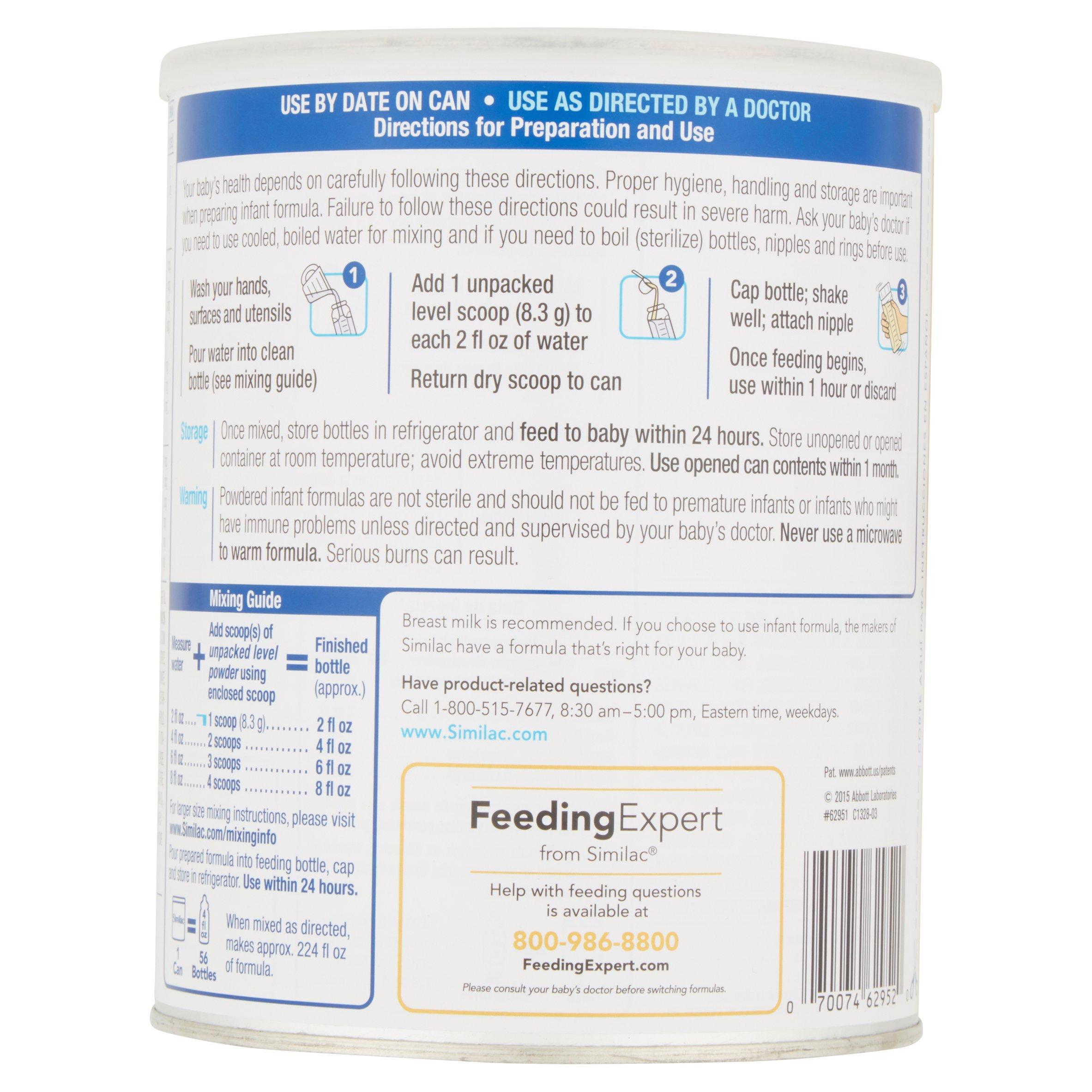 Special enclosed crib for premature babies - Similac Sensitive Infant Formula With Iron Powder 29 8 Ounces Pack Of 6 Walmart Com