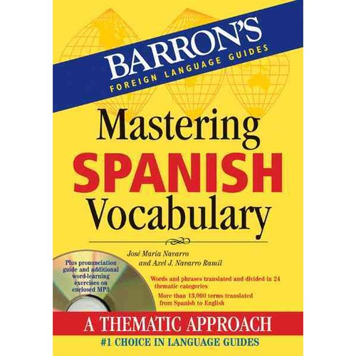 Mastering Vocabulary: Mastering Spanish Vocabulary with Audio MP3: A Thematic Approach (Other)