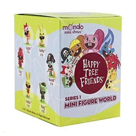 New Happy Tree Friends Figures Toys Games Mini Figure World Blind Box Series 1](Happy Tree Friends Halloween Games)