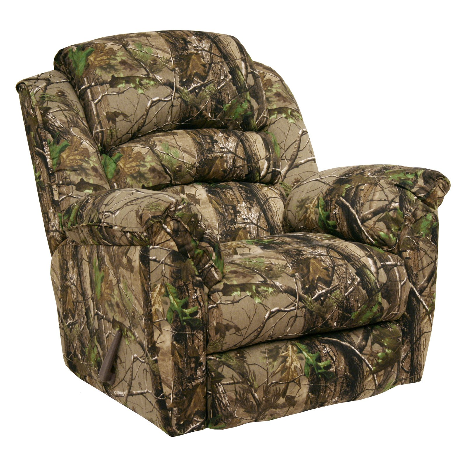 Catnapper High Roller AP Green Realtree Camouflage Chaise Rocker Recliner