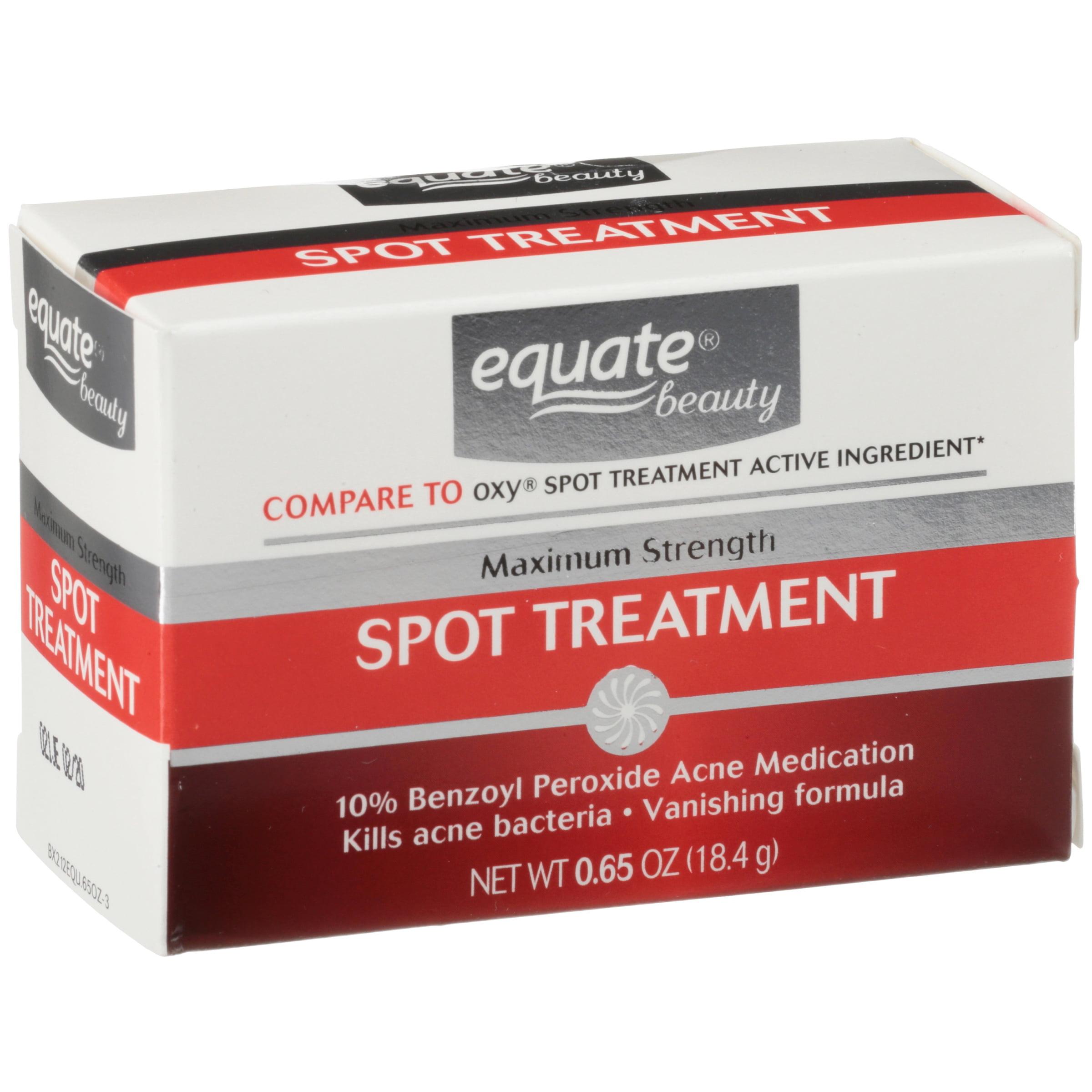 Equate Maximum Strength Acne Spot Treatment 0 65 Oz Walmart Com Walmart Com