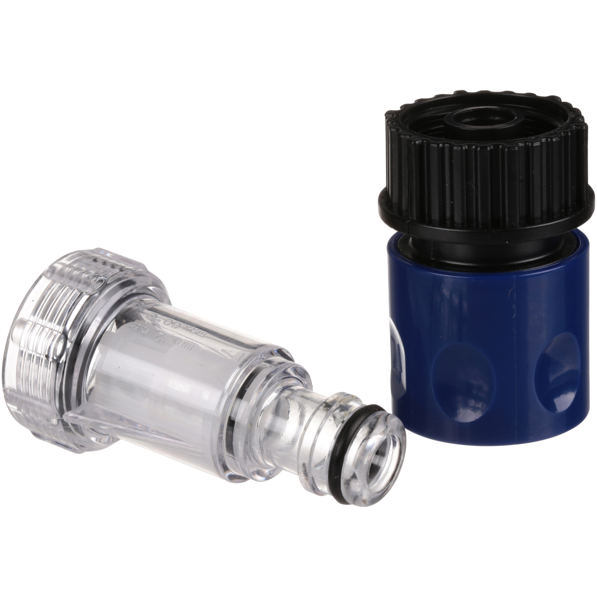 Blue Clean® Pressure Washers Universal Quick Connect Garden Hose Adapter & Filter 2 pc Pack