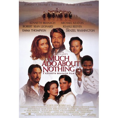 Much Ado About Nothing  1993  11X17 Movie Poster