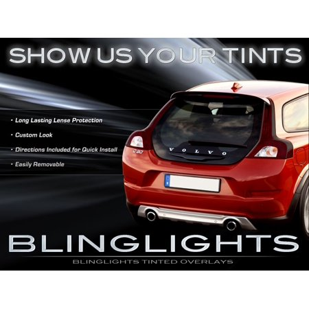 Volvo C30 Tinted Smoked Taillamps Taillights Overlays Film (Volvo Cornering Light)
