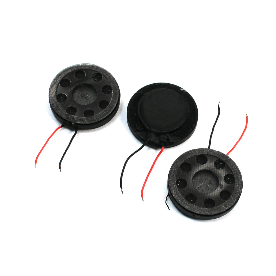 Unique Bargains 3pcs Laptop Tablet 20mm Magnet Internal SoundsSpeaker Horn 8 Ohm 1W