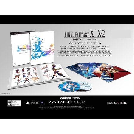 Final Fantasy X / X-2 HD Remaster Collector's Edition [PlayStation (Final Fantasy X And X2 Ps4 Limited Edition)