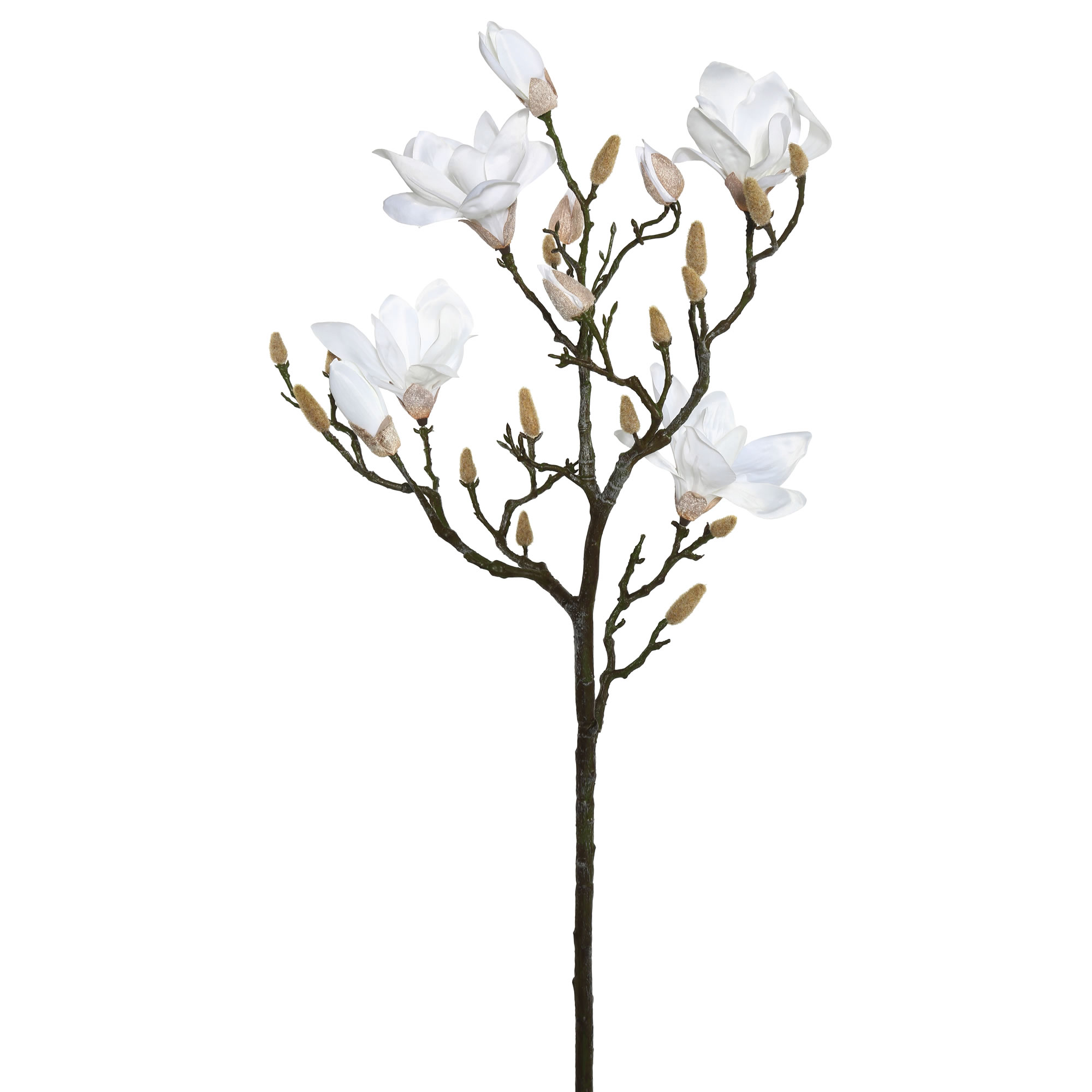 Vickerman 42'' Magnolia Spray-White