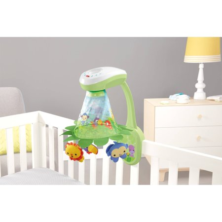 Fisher Price Rainforest Grow-with-me Projection Mobile (Rainforest Mobile)