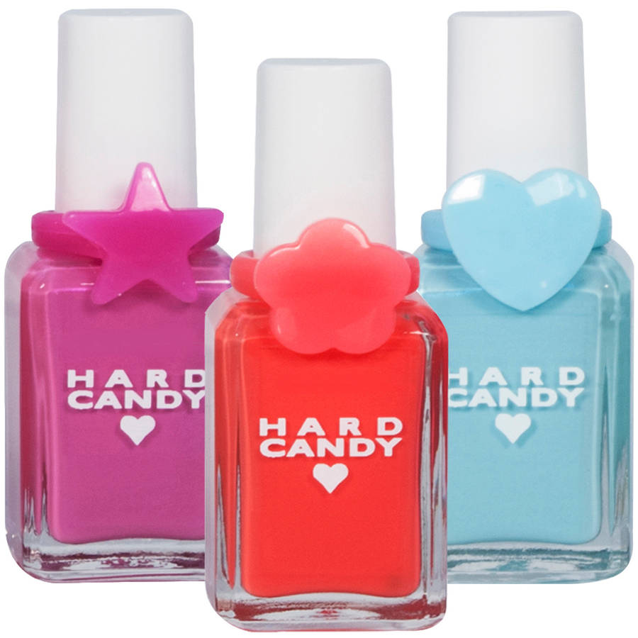 Hard Candy 20th Anniversary Nail Polish Gift Set, 3 count, 1.68 fl oz
