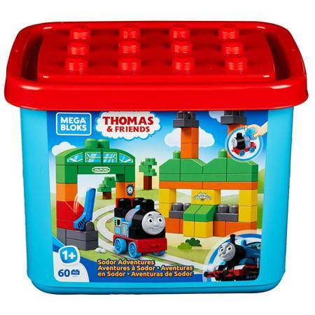 Mega Bloks Thomas & Friends Sodor Adventures 60-Piece (Mega Bloks Thomas & Friends Mountain Adventure)
