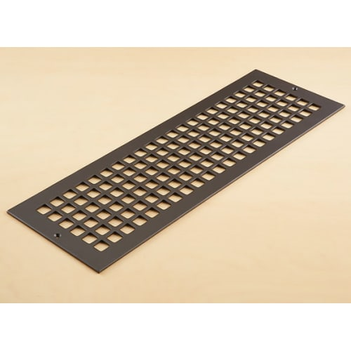 "Reggio Registers G824-SH Grid Series 22"" x 6"" Grille with Mounting Holes"