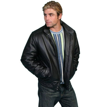 Cinch leather jacket