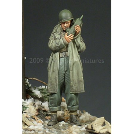 Alpine Miniatures 1 35 Wwii Us Army Officer  2   Resin Figure  35094