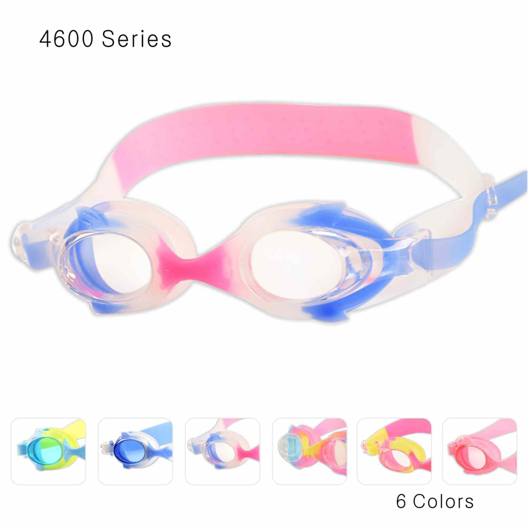 JML Kid Goggles, Cute Swim Goggles Soft Silicone, Anti-Fog, No Leaking, UV Protection Hypoallergenic Swimming Goggles... by JML