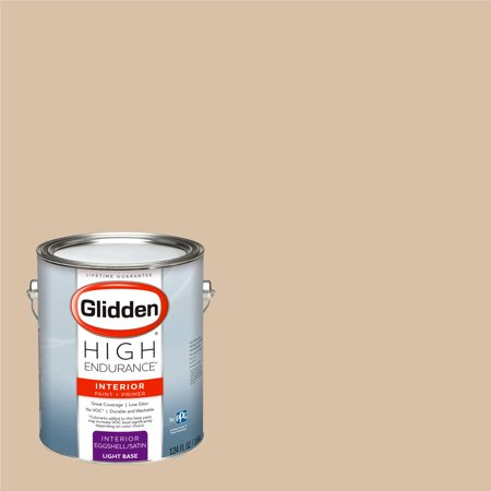 Glidden High Endurance, Interior Paint and Primer, Dapper Tan, # 10YY 55/163