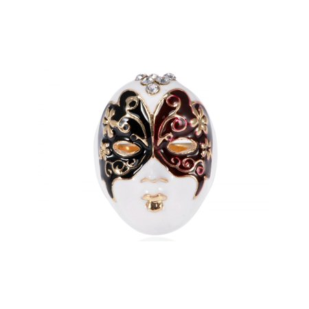 Enamel Paint Butterfly Venetian Masquerade Lady Face Mask Ring - Superhero Mask Face Paint