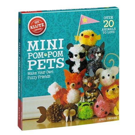 Mini Pom-Pom Pets, Make Your Own Fuzzy Friends By Klutz](Klutz Pom Pom Puppies)