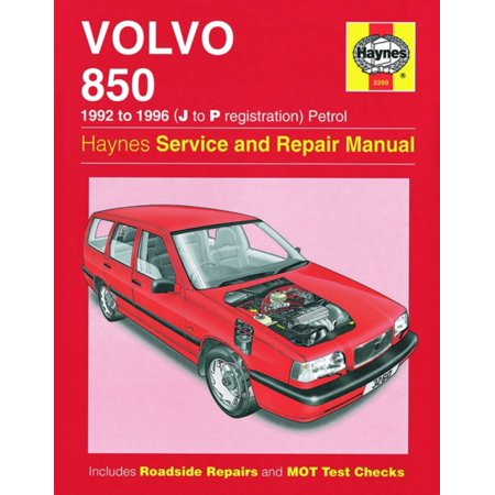 Volvo 850 Petrol (92 - 96) Haynes Repair Manual (Haynes Service and Repair Manuals) (Paperback)