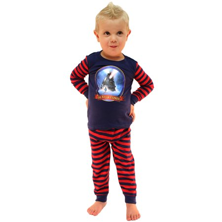 The Polar Express Train Baby Pajamas Toddler Kids Pajama Set](Polar Express Kids Pajamas)