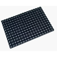 "Doortex® Octomat Black All-Weather Heavy Duty Outdoor Entrance Mat - 32"" x 48"""