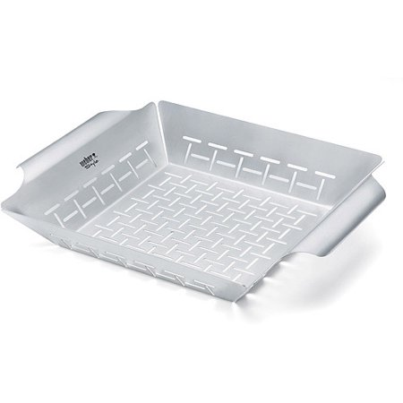 Stainless Steel Grill Basket - Weber Stainless Steel Grill Basket