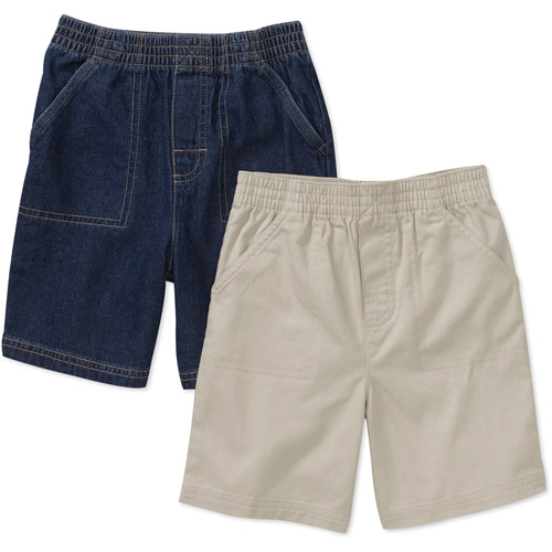 Garanimals - Baby Boys' 2 -Pack Woven Shorts