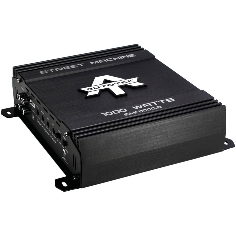 Autotek SMA1000.2 Street Machine 2-Channel Class AB Amp, 1,000 Watts