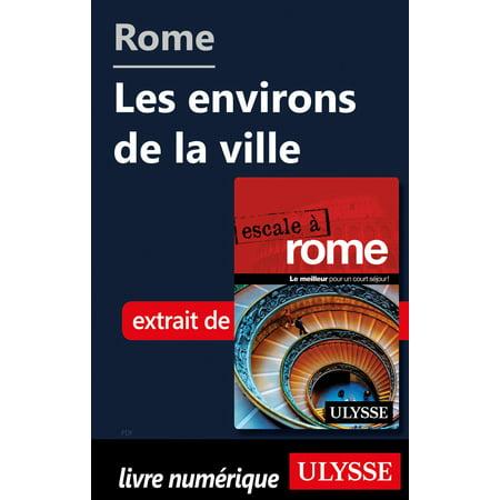 Rome - Les environs de la ville - eBook - Ville De Halloween