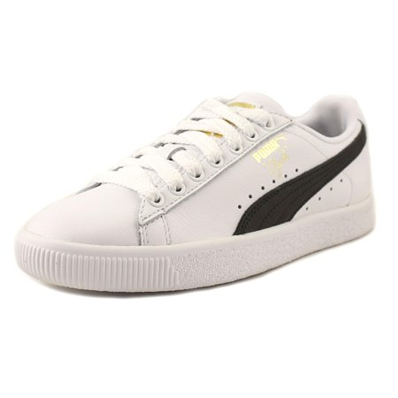 save off 7af9a 48d2b Puma Clyde Core Women Round Toe Sneakers Shoes