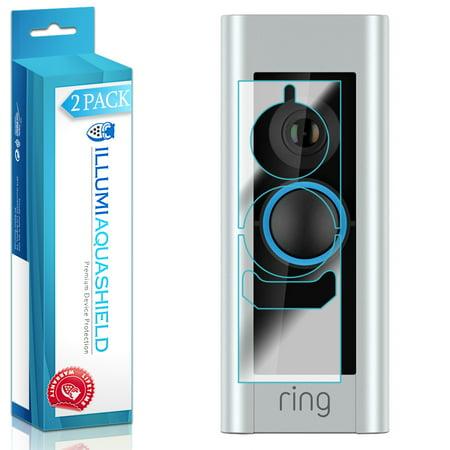 2x iLLumi AquaShield Clear Screen Protector for Ring Video Doorbell (Screen Doorbell)