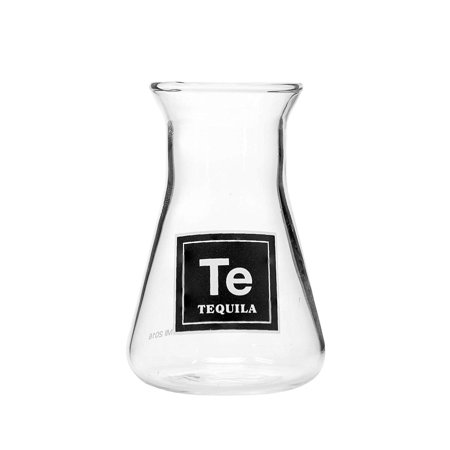 Drink Periodically Laboratory Erlenmeyer Flask Shot Glass -2.75oz