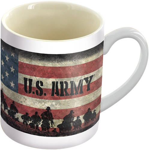 U.S. Army Flag 12 oz. Mug, 2017 Military by Lang Companies