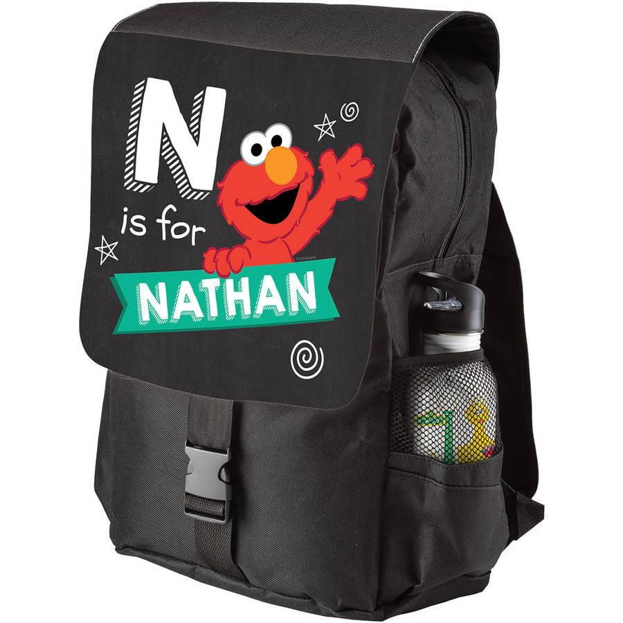Personalized Sesame Street Elmo Swirl Backpack