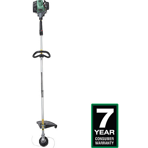 Hitachi 21.1cc Straight Shaft Grass Trimmer, Green