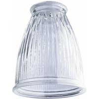 2.25 in. Crystal Clear Pleated Shade - Pack of 6