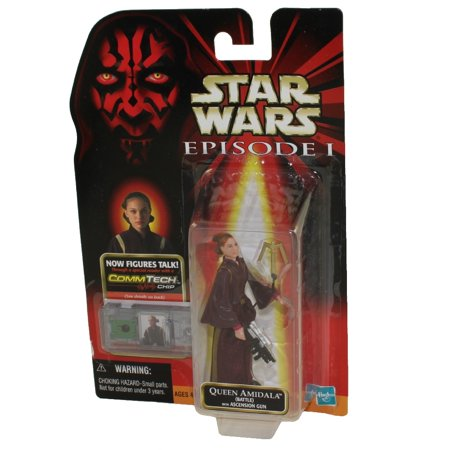 Star Wars Princess Amidala (Star Wars - Episode 1 (EP1) - Action Figure - Queen Amidala (Battle) (3.75)