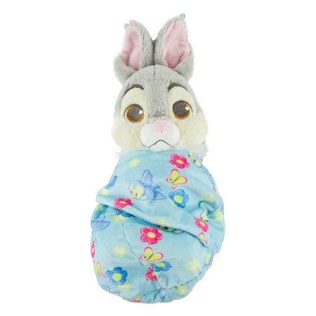 Disney Parks Baby Thumper in a Blanket Pouch Plush New with - Disney Thumper
