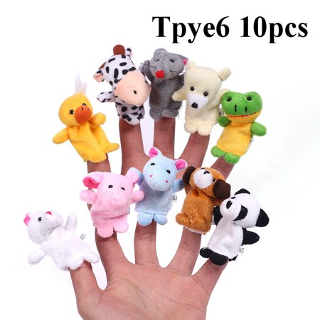 Family Members Finger Hand Puppet Play Learn Story Toy for girl boy Birthday - Buy Finger Puppets