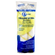 "Premier Home-Pro® Yellow Spiral 6-1/2"" Mini Roller 2-Pack"