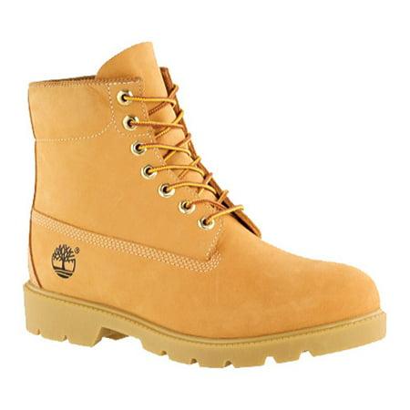 8013ffacdc1c5 Timberland - Timberland 6 Inch Basic Men's Boots Wheat Nubuck 10066 -  Walmart.com