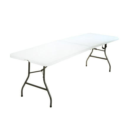 e532166d767f Cosco 8 Foot Centerfold Folding Table, White