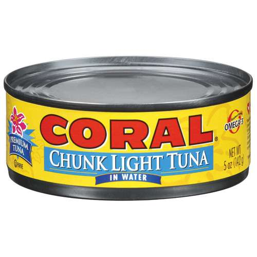 Bumble Bee Coral  Tuna, 5 oz