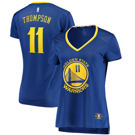 the latest 8c9a4 747a1 Klay Thompson Golden State Warriors Fanatics Branded Women's Fast Break  Replica Jersey Royal - Icon Edition - Walmart.com
