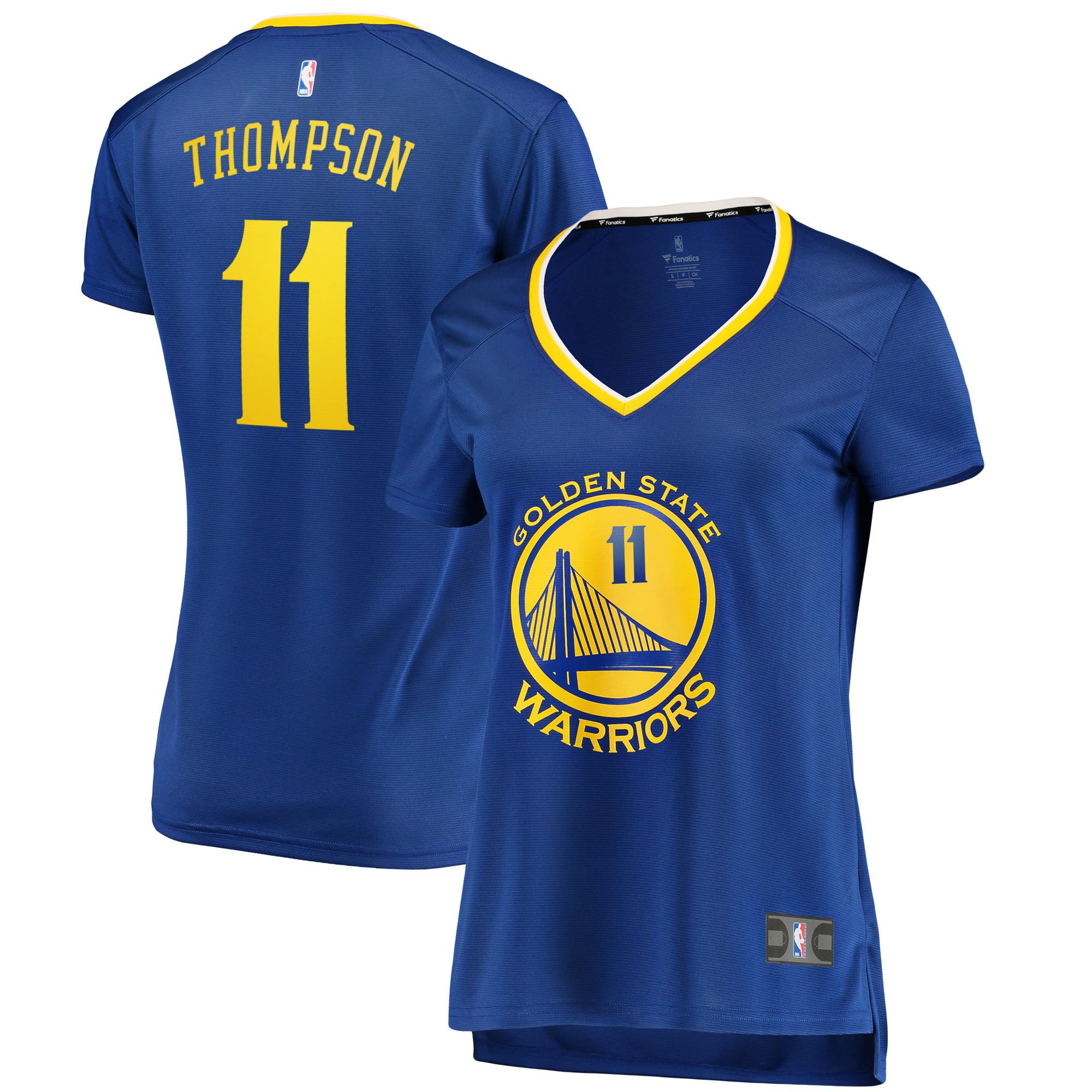 Klay Thompson Golden State Warriors Fanatics Branded Women's Fast Break Replica Jersey Royal - Icon Edition