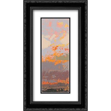 Soft Crop - Soft Day III Crop I 2x Matted 14x24 Black Ornate Framed Art Print by Dowling, Grainne