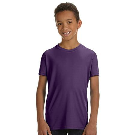 6177cdb1dec3 All Sport Y1009 Team 365 Youth Performance SS T-Shirt - Sport Purple - Small