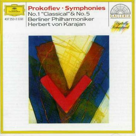 Karajan/Berlin Philharmonic Orchestra - Prokofiev: Symphonies Nos. 1 Classical & 5 (Lang Lang Simon Rattle Berlin Philharmonic Orchestra)