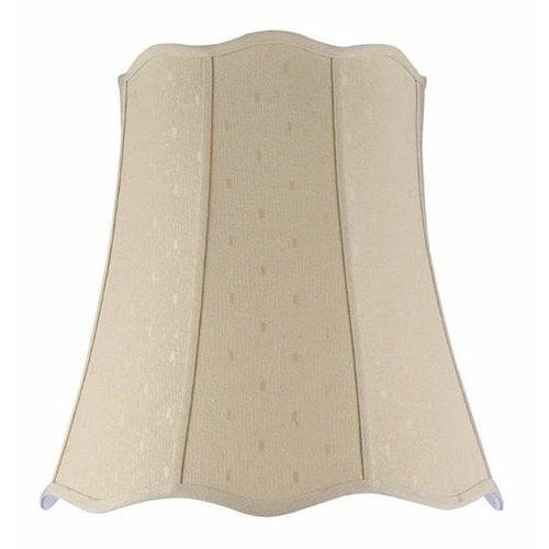 Aspen Creative Corporation 20'' Fabric Bell Lampshade by Aspen Creative Corporation