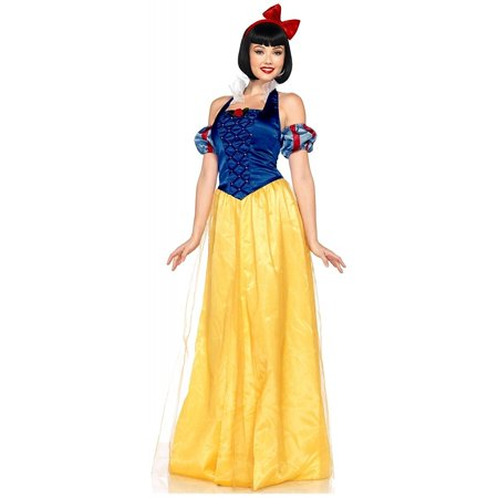 Adult Movie Snow White The Seven Dwarfs Disney Princess Snow White Dress Costume - Princess And The Frog Costume Adults